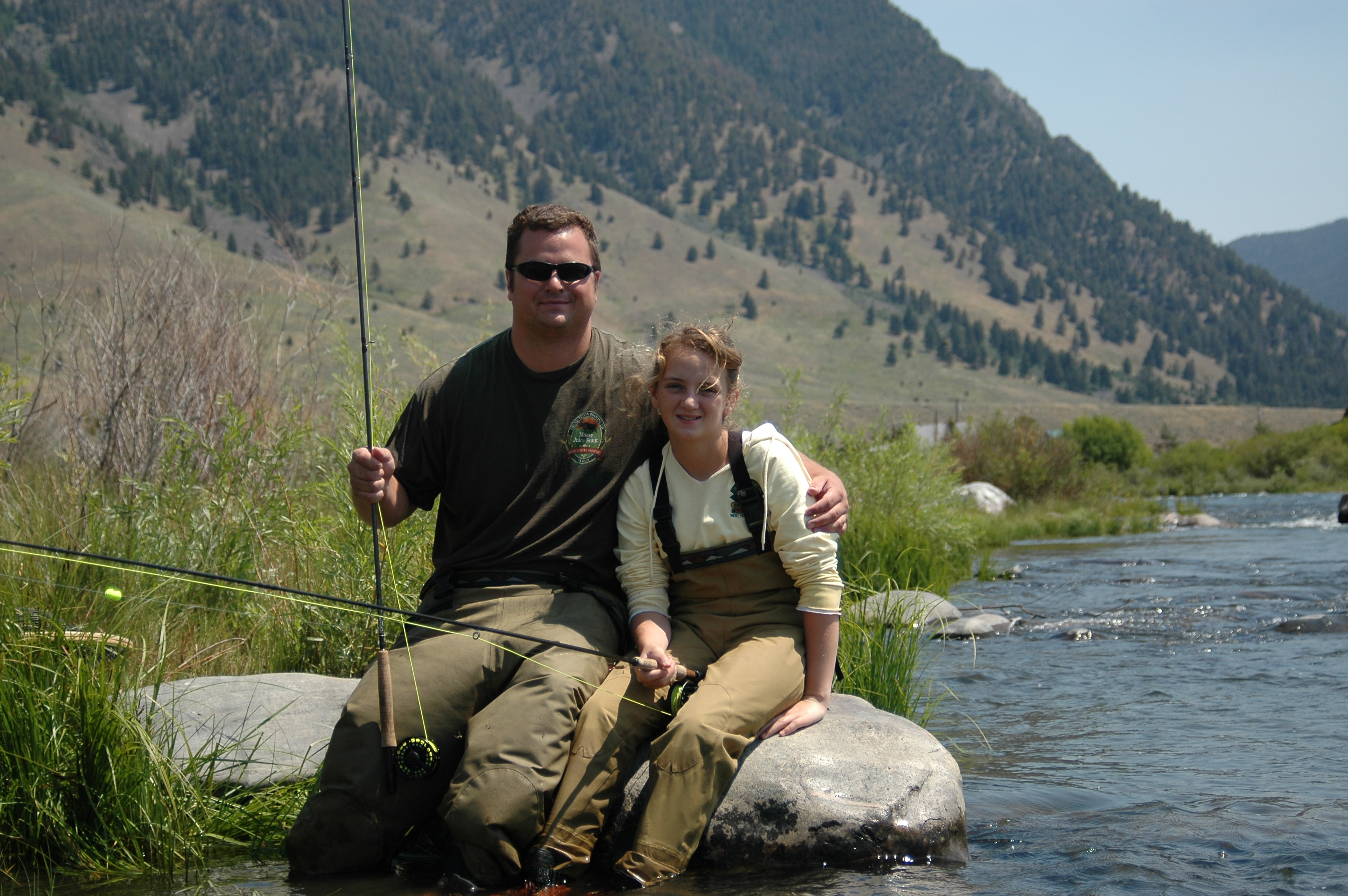 Summer wading trip montana fly fishing guides lost for Montana fishing trips