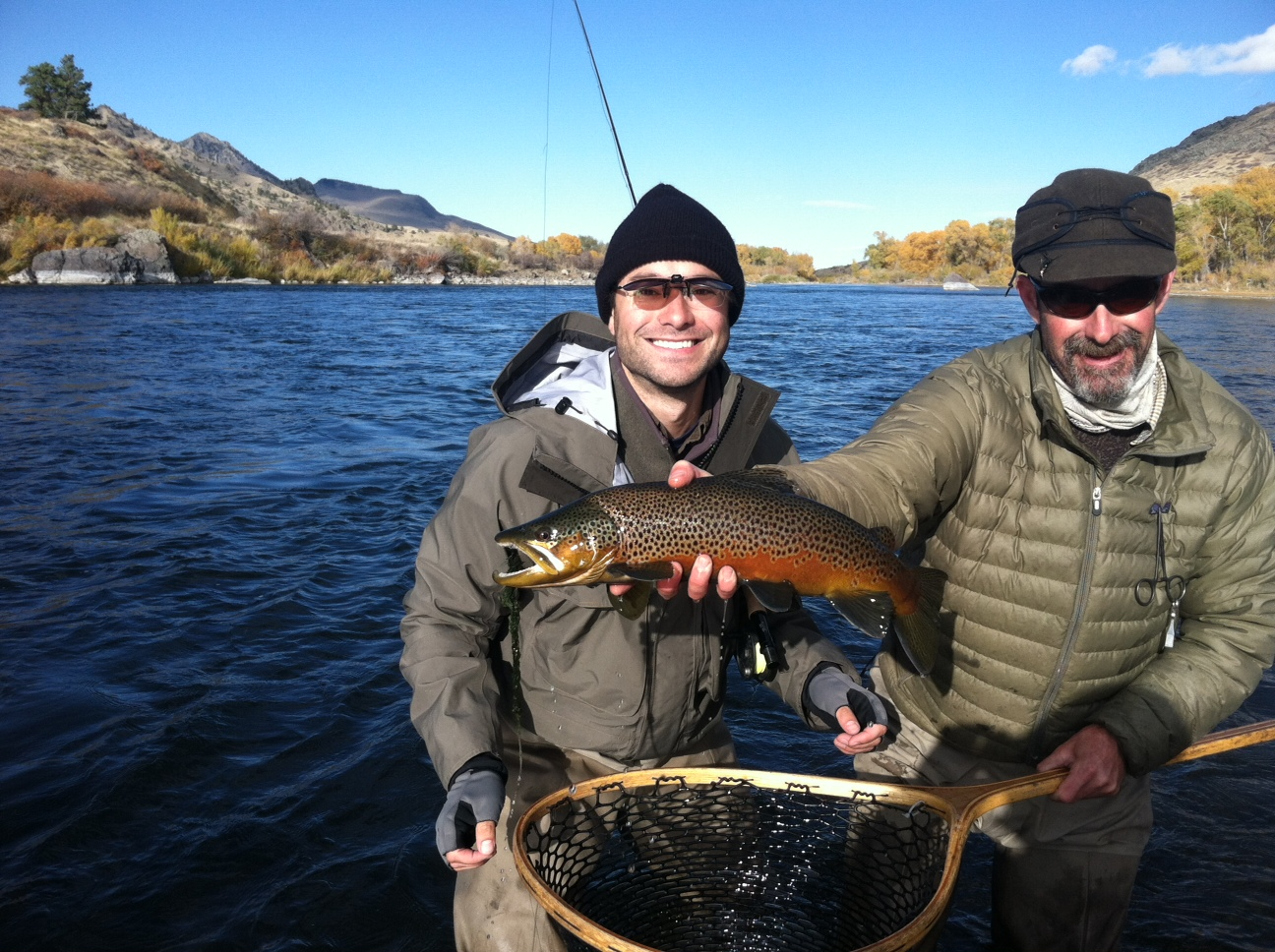 Missouri river fly fishing guides lost fork for Trout fishing in missouri